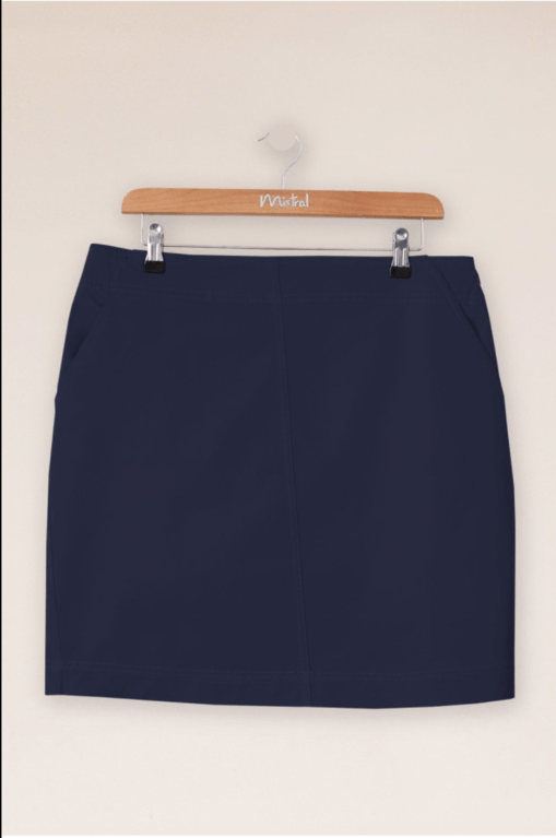 Mistral Twill Pencil Skirt - Eclipse