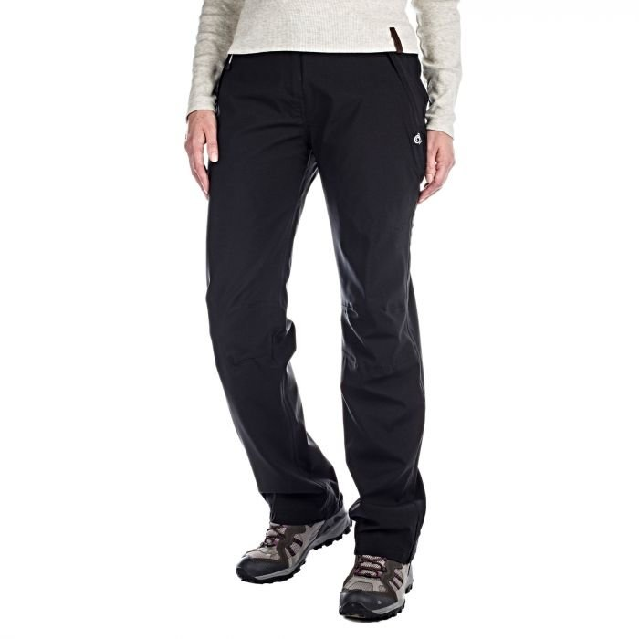 Craghoppers Women's Aysgarth Waterproof Trouser- Regular Leg Length - Black