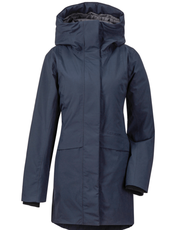 Didriksons Woman's Cajsa Parka - Dark Night
