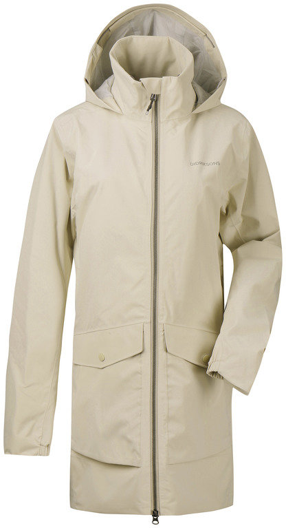 Didriksons Women's Elvira Parka - Light Beige