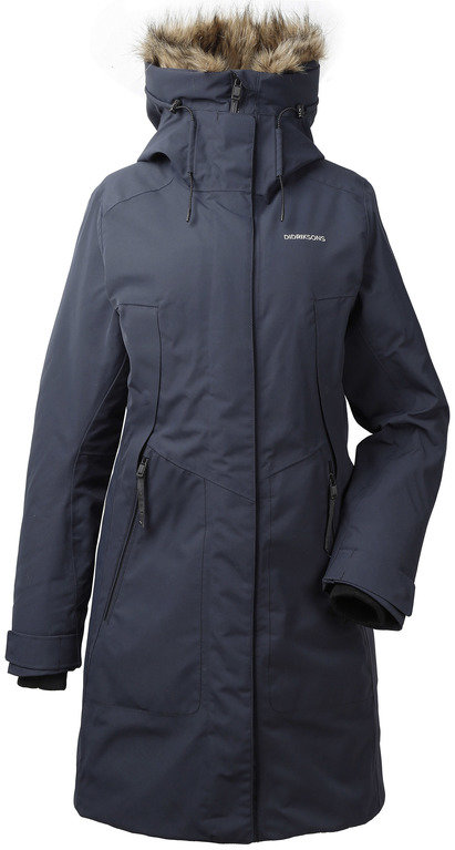 Didriksons Women's Mea Parka - Night Blue
