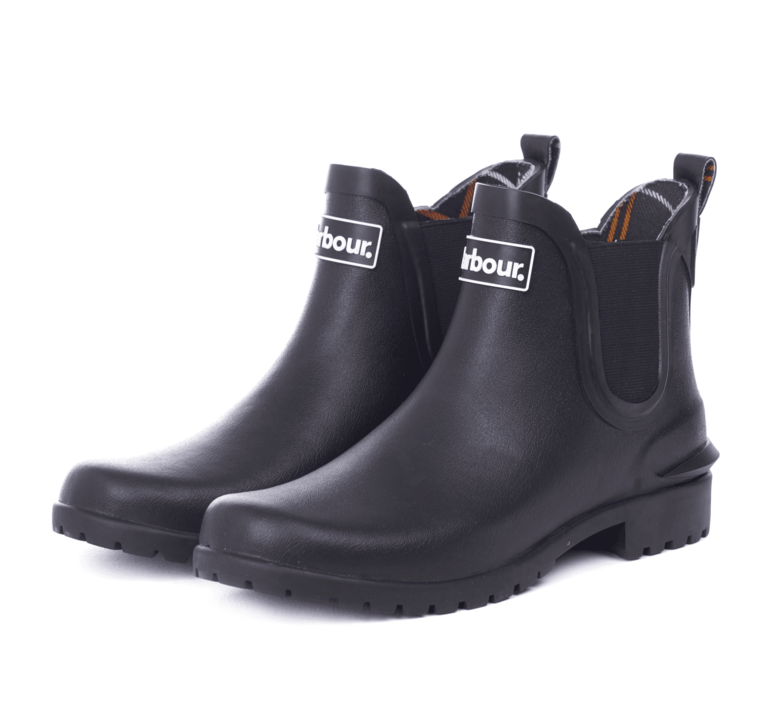 Barbour Wilton Welly - Black