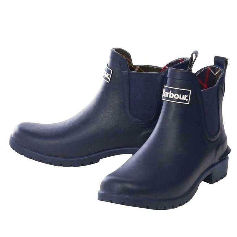 Barbour Wilton Welly - Navy