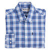 Barbour Highland 3 Tailored Shirt - Mid Blue Thumbnail