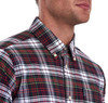 Barbour Highland Check 11 Tailored Shirt - Red Thumbnail