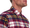 Barbour's Highland Check 19 TF Shirt - Red Thumbnail