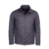 Barbour Woban Quilt Jacket - Charcoal Thumbnail