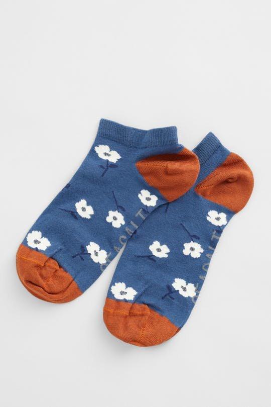 Seasalt Arty Trainer Socks - Seasalt